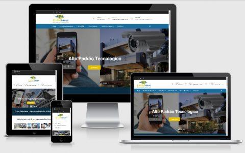 Site para Empresa de Segurança e Monitoramento