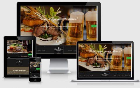 Site para Restaurantes e Pousadas