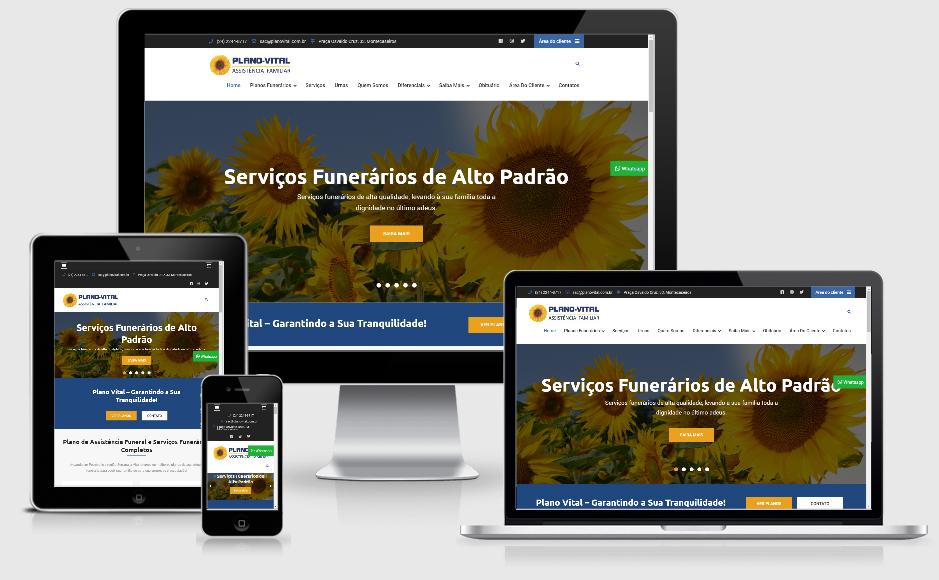 Site para empresa de serviços