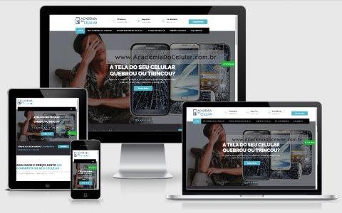 Site para profissionais e microempreendedores