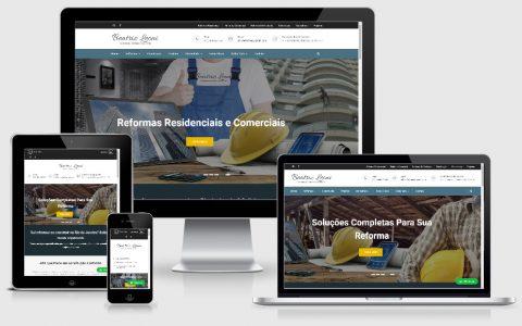 Site para profissionais da construção