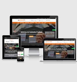 Sites institucionais para apresentar empresas e projetos